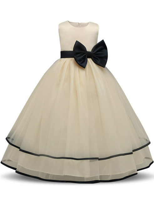 abf687cc5973 Baby Girl Dress Children Clothing Girl Wedding Party Prom Gown Tulle ...