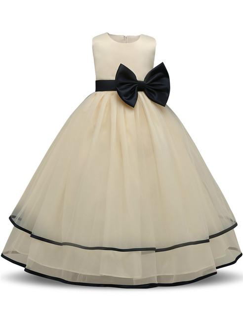 Vestido Da Menina do bebê Crianças Roupas de Festa de Casamento Menina Prom Vestido de Tule Crianças vestidos Para Meninas 4 5 6 7 8 9 Anos de Roupas De Aniversário