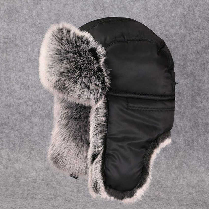 6716c1a69 Detail Feedback Questions about Winter Men Ushanka Fluffy Faux Fur ...