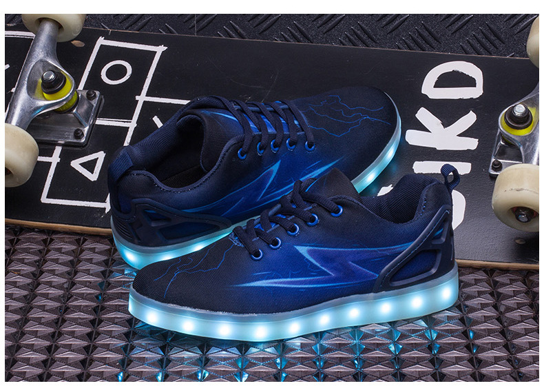 Led Sneakers Lightning 13