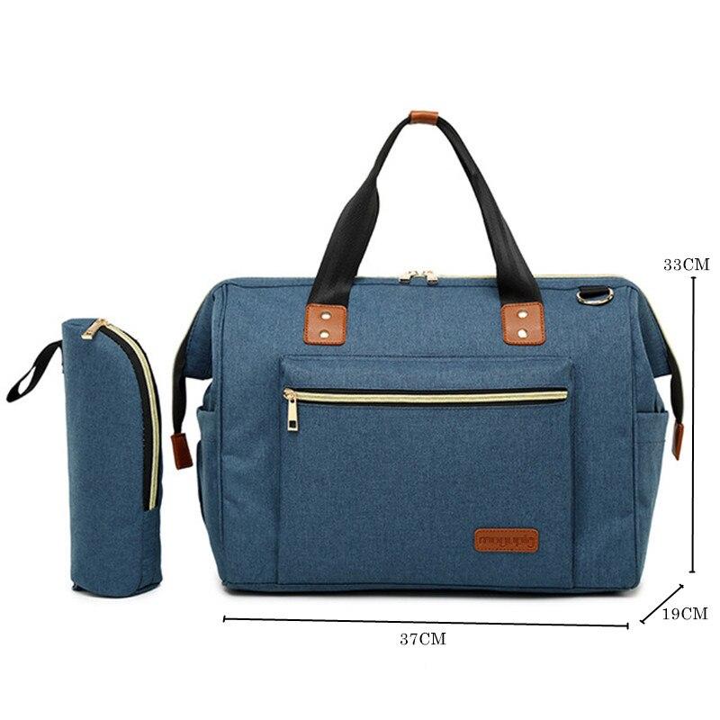 d93c07a34 De gran capacidad pañal cochecito bolsos organizador bolsa de bolsa para  madre cochecito de bebé ...