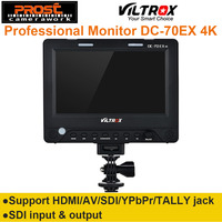 7'' Viltrox DC 70EX 4K HD Clip on HDMI/SDI/AV Input Output Camera Video LCD Monitor Display for Canon Nikon Pentax Olympus DSLR