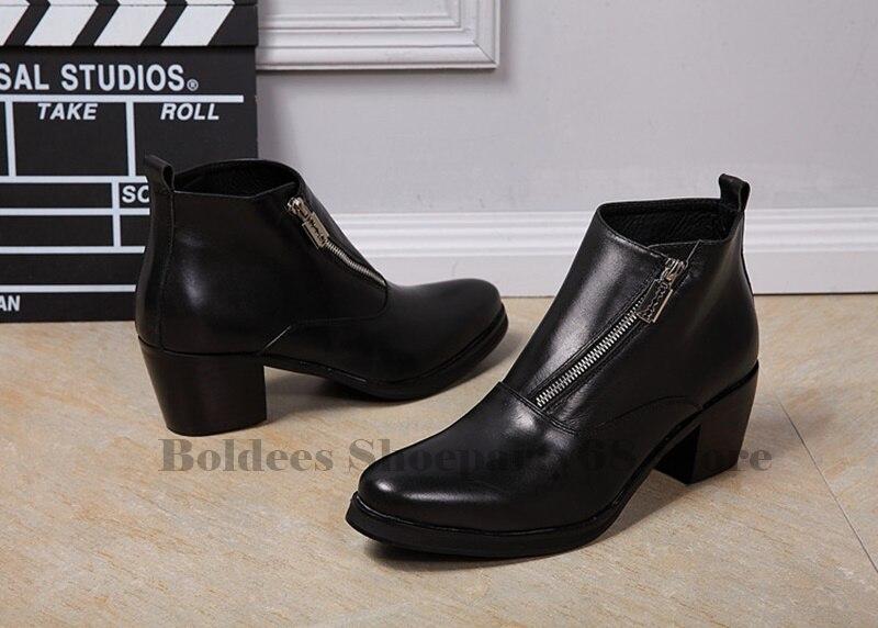 Men Oxfords Ankle Boots Man 2019 Black Leather Shoes British Man Cut Outs Dress Shoes Big Size 38-47Men Oxfords Ankle Boots Man 2019 Black Leather Shoes British Man Cut Outs Dress Shoes Big Size 38-47