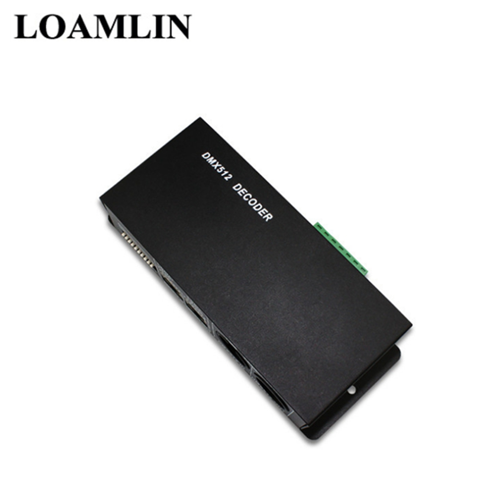 Image 5 - DMX512 Decoder  LED Dimmer Driver  RGB Controller DMX 512  4 Channels Decoder Controller Dimmer For RGB LED Strip-in RGB Controlers from Lights & Lighting