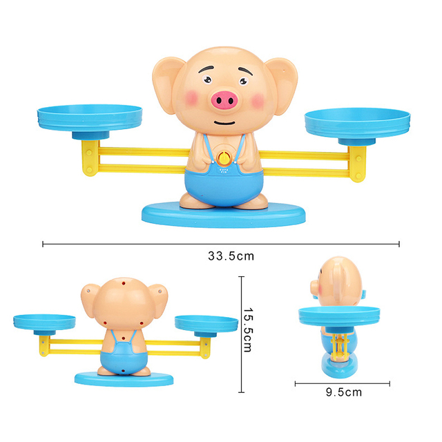balance scale learning math toy