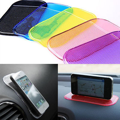 Useful Car Interior Accessories Magic Anti-Slip Reusable Dashboard <font><b>Sticky</b></font> <font><b>Pad</b></font> Non-slip Mat Holder For GPS <font><b>Cell</b></font> <font><b>Phone</b></font> Car Styling