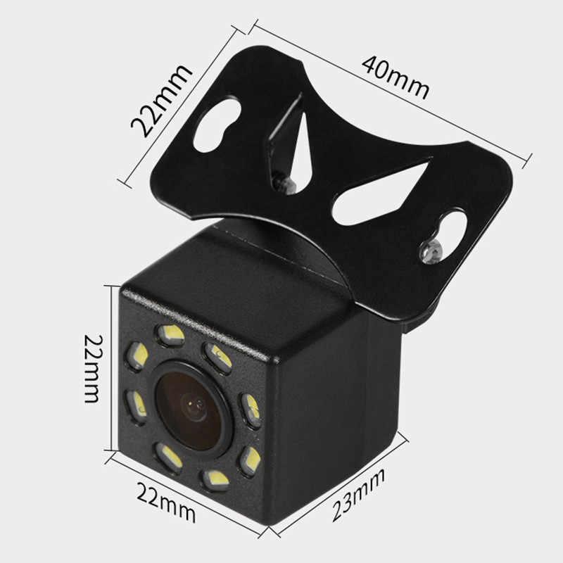 8 светодиодный 170 градусов HD Автомобильная камера заднего вида широкий угол ночного видения резервная Парковка заднего вида видео DVR рекордер Водонепроницаемый