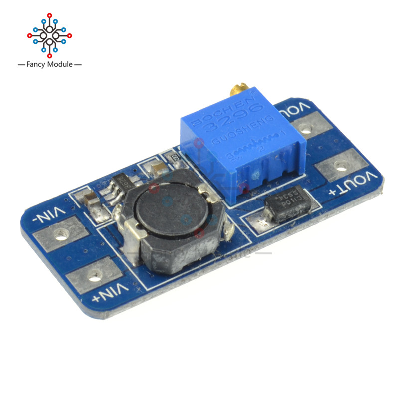 5PCS MT3608 DC-DC Step Up Converter Booster Power Supply Module Boost Step-up Board MAX output 28V 2A For Arduino dc dc sx1308 step up adjustable power module step up boost converter 2 24v to 2 28v 2a