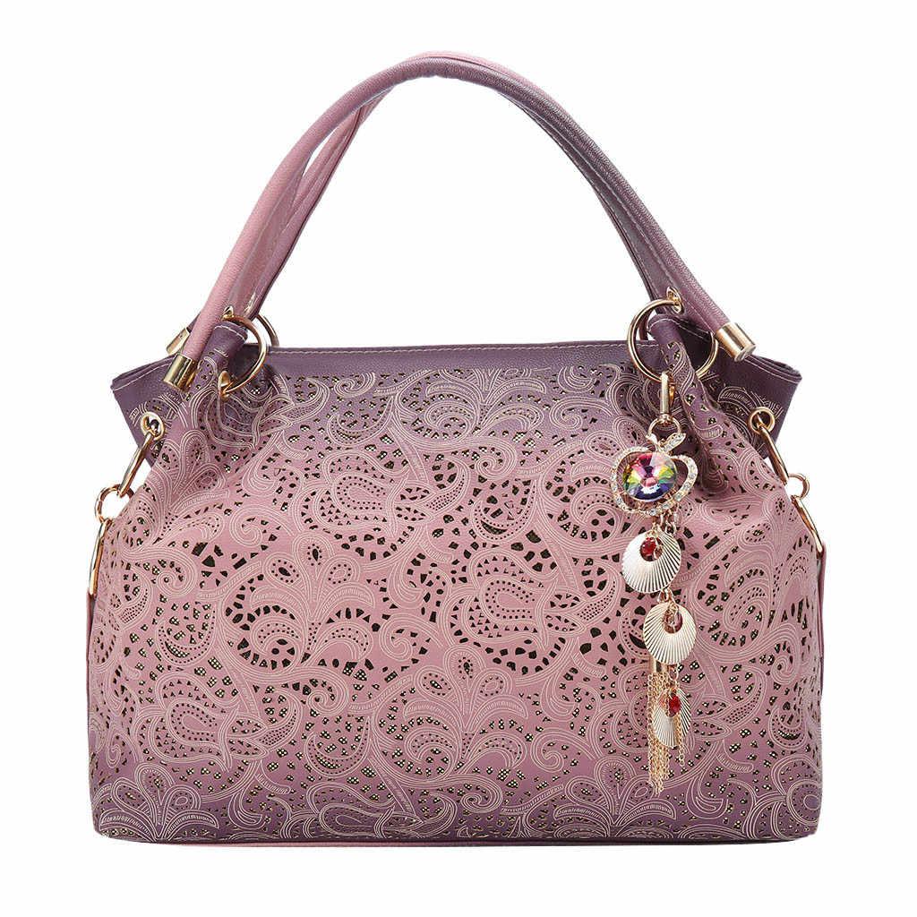 MOLAVE сумки модные женские сумки женские кожаные ажурные резные дикие сумки почтальон новые элегантные сумки через плечо женские 9327