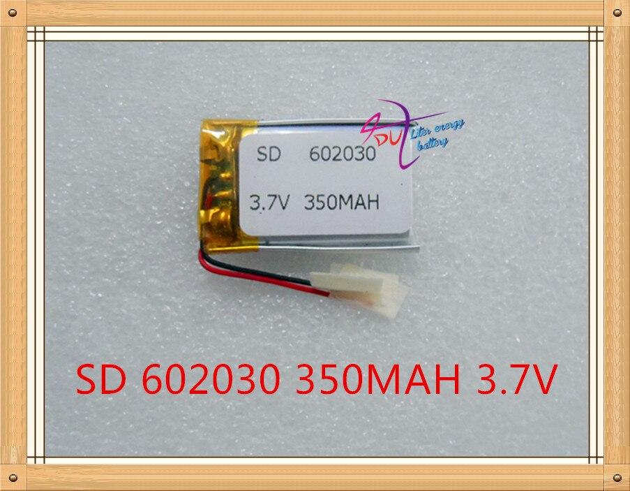 இ100 unids 3.7 V 300 mAh batería recargable del Lipo del polímero ...
