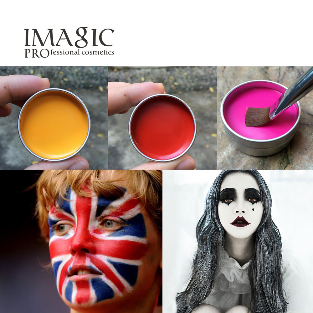 Imagic Fiesta De Halloween Vestido De Lujo De Belleza Maquillaje  ~ Herramientas Pintor Profesional