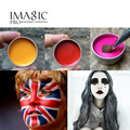 IMAGIC  Halloween Party Fancy Dress Beauty Makeup Face Paint Tools monochrome Flash Tattoo Face Body Paint Oil Painting Art