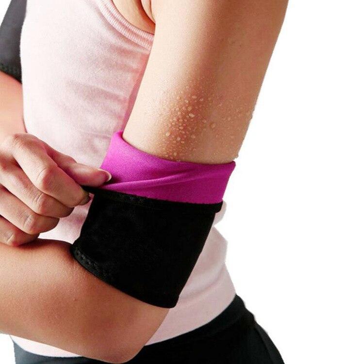Women Sweat Body Shaper Arm Shaper Slimming Weight Loss Bodyshaper Arm Supports Thin Shaper 2pcs/lot