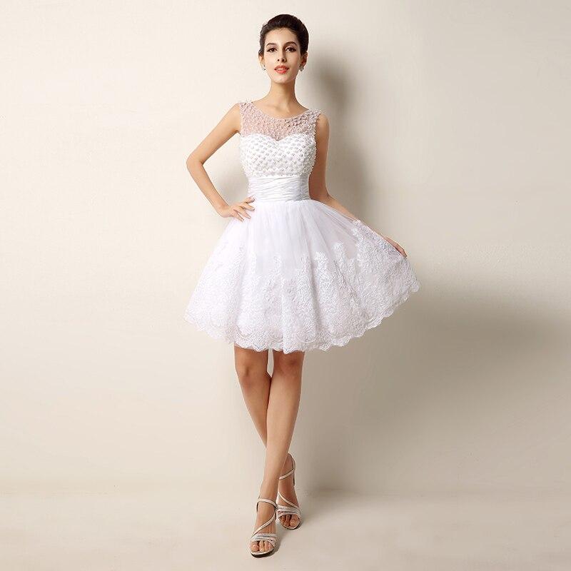 Vestidos de boda cortos y bonitos
