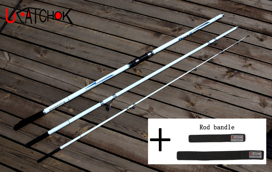 1pcs/pack 4.2M beach surf fishing rod carp pole far shot long casting 3 inserted sections distance throwing rod carbon fiber rod 2m long 6 sections fishing rod for fishing enthusiast