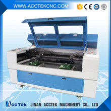 2017 new technology double head laser cutting machine price /laser engraving cutting machina
