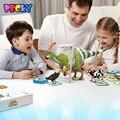 Becky 100 PCS cartão 3D estéreo brinquedos educativos realidade aumentada jogar cedo aprendizagem bilíngüe bolso bolso Animal Zoo crianças brinquedos