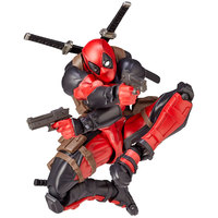 15CM Deadpool Revoltech X Men Action Figure Wade Winston Wilson Doll With Sword Gun Weapon Cool Model Toys for Children Gift