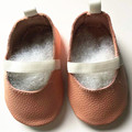 New style elastic band Genuine Leather baby shoes First Walkers The design Toddler baby moccasins gils Shoes free shipping