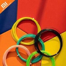 Cores originais xiaomi mijia 8 selecionado linha de raquete de badminton de fibra de nylon 10 m comprimento 0.72mm de diâmetro do fio
