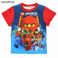 Children Kids Boys T shirt Cartoon Naruto kids clothes boy girls cotton character shorts sleeve T-shirt  for 3-9Years SAILEROAD