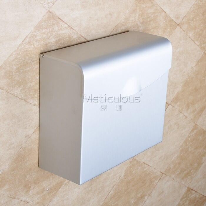 Flat aluminum bathroom accessories bathroom tissue boxes , toilet water toilet paper holder flat aluminum bathroom accessories bathroom tissue boxes toilet water toilet paper holder