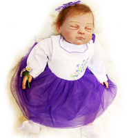 Силиконовые Кукла Reborn жив новорожденных спальный сопровождать куклы для девочки детская игрушка Рождество подарок на день рождения Brinquedos