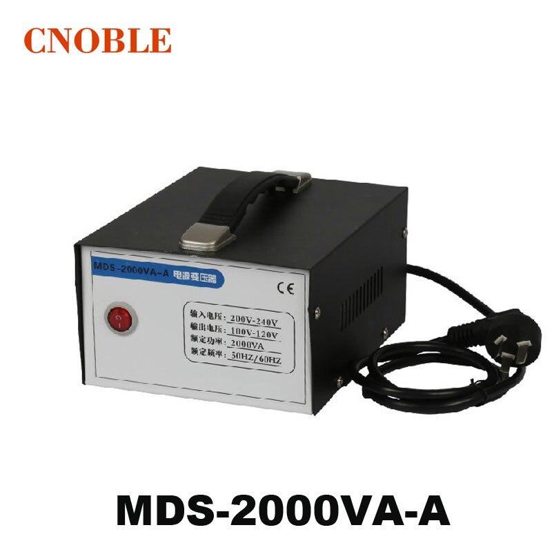 Voltage converter 220v to 110v transformer 2000w 2KW appliances Power converter Toroidal Transformer
