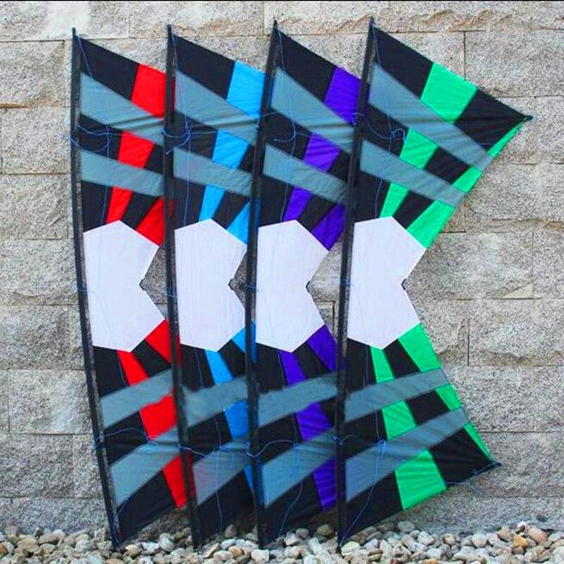 все цены на free shipping high quality 2.4m REV quad line stunt kites eyes with handle line outdoor fun sports kites pipas esportivas hcx онлайн