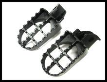 Çelik ayak PEGS FOOTPEGS 1990 1998 Suzuki için DR250 DR350 DR650 DR 250 350 650
