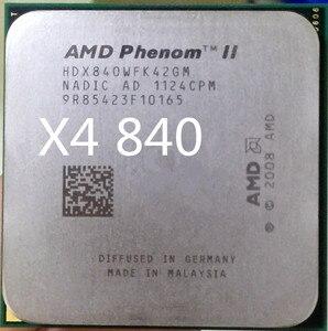AMD Phenom II X4 840 x4 840 CPU Processor Quad-Core 3.2Ghz/ 4M /95W Socket AM3 AM2+ 938 pin X4 840 can work
