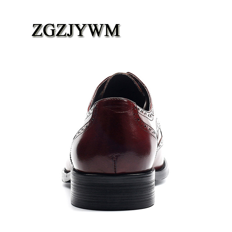 Zapatos Encaje otoño red Dedo La Para De Oxford Moda Black Del Hombre Genuino puntiagudo Cuero Pie rojo Primavera Negro Negocio Zgzjywm Vestido Boda Oficina 7qRxgwUnvn