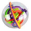 Starz 209 Steps Big Size 3D Magic Rolling Globe Ball Marble Puzzle Cubes Brain Teaser Game Perplexus Sphere Maze