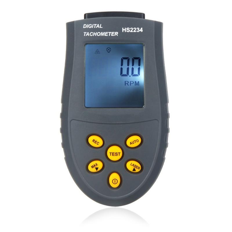 Minitacómetrodigitalsin contacto Non-contact Tachometer Laser RPM Meter