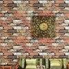 Free Shipping Chinese Vintage 3d Stereo Brick Wallpaper Corridor Restaurant Restaurant Entrance Wallpaper