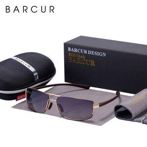 Image 5 - BARCUR Cutom okulary przeciwsłoneczne męskie okulary przeciwsłoneczne do jazdy męskie okulary przeciwsłoneczne dla mężczyzn Oculos de sol