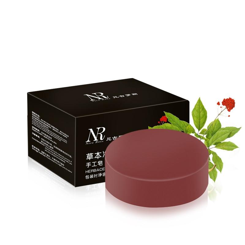 Traditional Chinese Medicine Soap Whitening Oil-control Handmade Soaps Remove Acne Blackhead Handmade Essential Oil Soap Shampoo