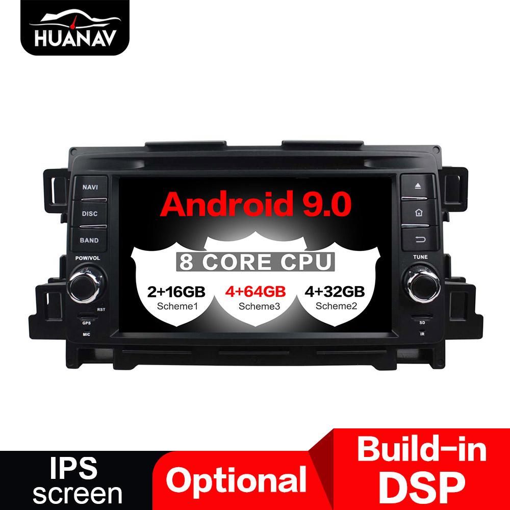 DSP <font><b>Android</b></font> 9.0 Car GPS Navigation CD DVD Player For <font><b>Mazda</b></font> <font><b>CX</b></font>-<font><b>5</b></font> 2011 2012 auto <font><b>radio</b></font> player Head unit multimedia Stereo tape NAV image