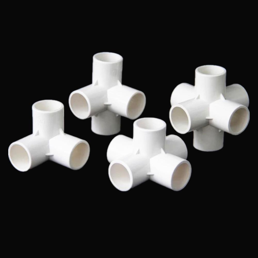 PVC 3/4/5/6 Dimensional Interne Durchmesser 20mm, 25mm, 32mm PVC Rohr Armaturen Home Garten Bewässerung Wasser Anschlüsse DIY Werkzeug