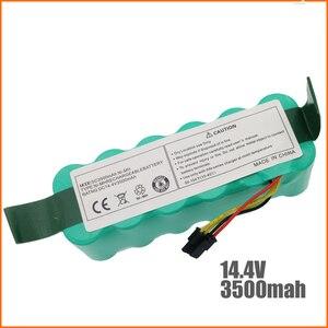 Image 2 - Ni Mh 14.4V 3500 Mah per Panda X500 X600 X850 Batteria di Alta Qualità per Ecovacs Specchio CR120 Aspirapolvere Dibea x500 X580