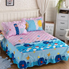 Child Aduls Bedroom 100 Cotton Blue Color Cartoon Underwater World Bedding Setsfor Girl Boys Bed Sheet