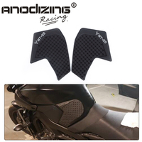For Yamaha MT09 MT 09 FJ 09 2014 2016 New Arrival Black Motorcycle Tank Traction Side