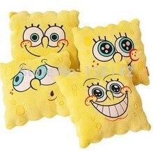 34 34cm Cartoon sponge bob plush font b toys b font spongebob Pillow cushion the cushion