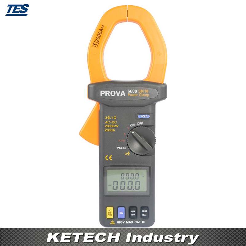 Compteur de puissance triphasé (2000A) PROVA6600