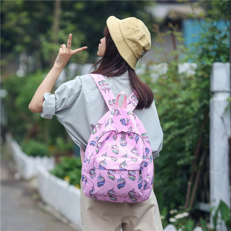 Women travel backpack Lovely Cartoon Animal School Bags Large Capacity For Teenage Girls Female bagpack schoolbag sac femme dos