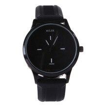 Basic Black and White Silicone Quartz Watch Model Ladies Watches Lovers Jelly Informal Watch Relogio Feminino 2017 Clock Ladies