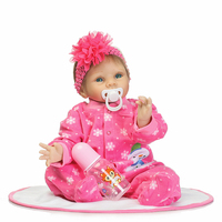 New Silicone Reborn Baby Doll Toy Fashion Soft
