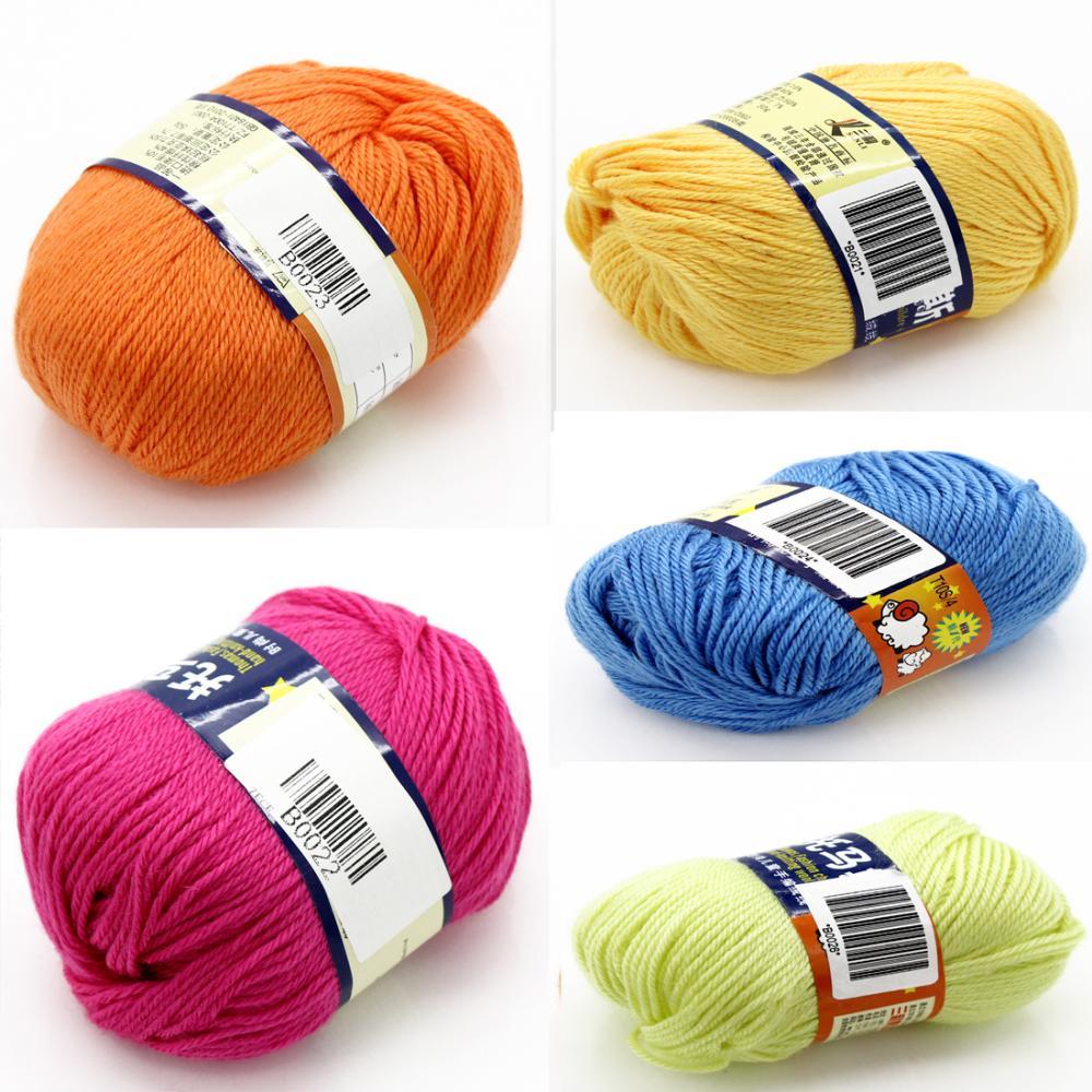 Hot Sale Sweater Knitting Yarn Natural Soft Bamboo Amp Cotton