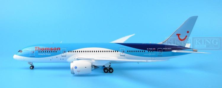 Thomson Airways B787-8 G-TUIA G2TOM543 GeminiJets 1:200 commercial jetliners plane model hobby