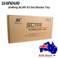 ZhenDuo Toys Jinming Scar 8th Gun Toy Gel Ball Blaster Water Bullet For Children Outdoor Play Sports